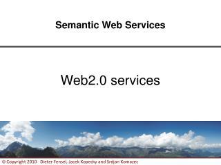 Web2.0 services