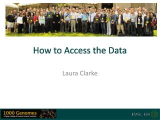 How to Access the Data