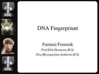 DNA Fingerpriunt