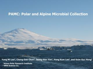 PAMC: Polar and Alpine Microbial Collection