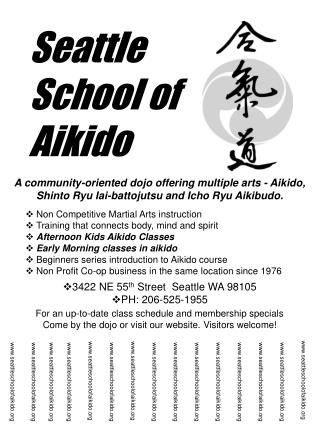 Seattle  School of Aikido