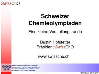 Schweizer Chemieolympiaden
