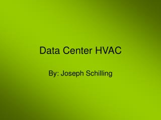 Data Center HVAC