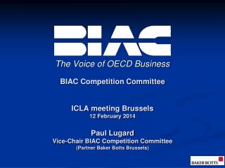 The Voice of OECD Business