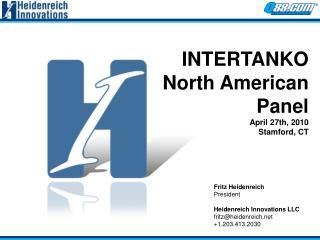 Fritz Heidenreich President Heidenreich Innovations LLC fritz@heidenreich +1.203.413.2030