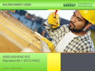ANSI/ASHRAE/IES Standard 90.1-2013 HVAC