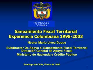 Néstor Mario Urrea Duque