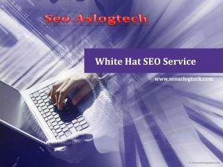 White Hat SEO Service