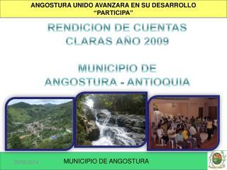 """ANGOSTURA UNIDO AVANZARA EN SU DESARROLLO """"PARTICIPA"""""""