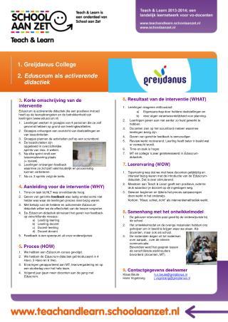 1.  Greijdanus  College