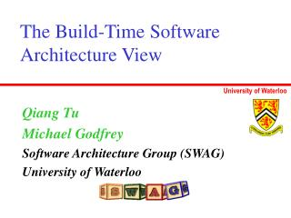 The Build-Time Software Architecture View
