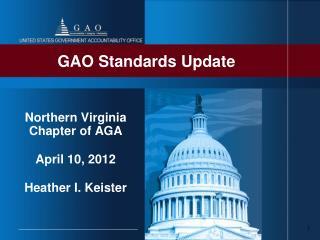GAO Standards Update