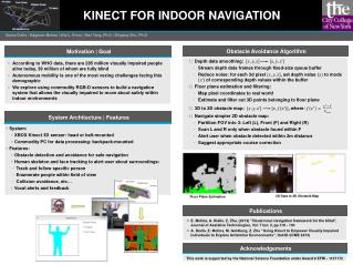KINECT FOR INDOOR NAVIGATION
