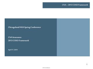 Chicagoland IASA Spring Conference