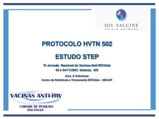 PROTOCOLO HVTN 502 ESTUDO STEP