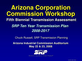 Fifth Biennial Transmission Assessment