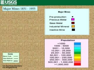 Major Mines 1851 - 1955