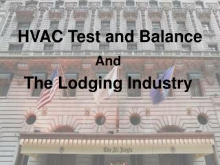 HVAC Test and Balance
