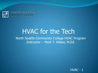 HVAC for the Tech