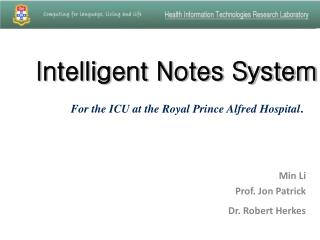 Intelligent Notes System