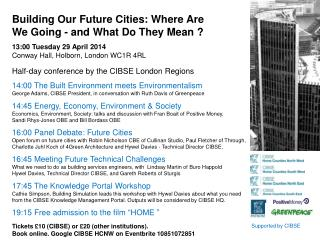 Building Our Future Cities: Where Are We Going - and What Do They Mean  ?
