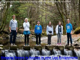 Stepping Stones to Success in your Law Assignments