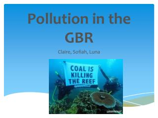 Pollution in the GBR