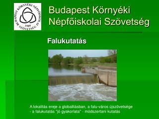 Budapest Környéki Népfőiskolai Szövetség