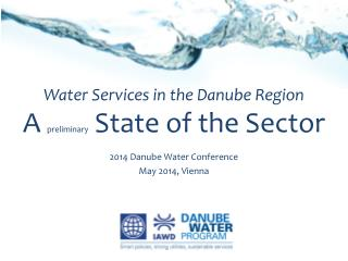 Water Services in the Danube Region A  preliminary  State of the Sector