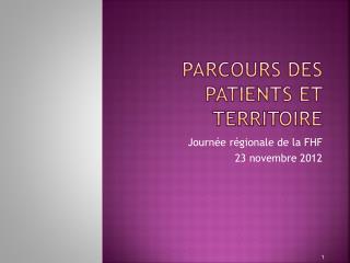 Parcours des patients et territoire