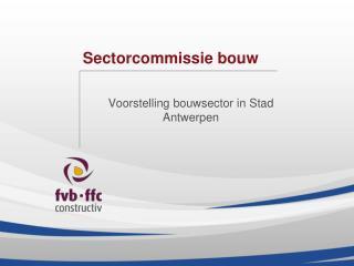 Sectorcommissie bouw