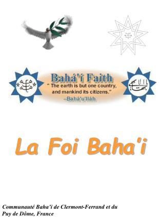 La Foi Baha'i