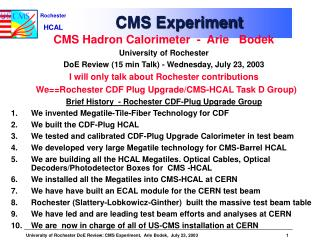CMS Experiment