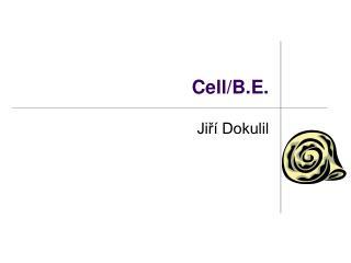 Cell/B.E.
