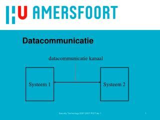 Datacommunicatie