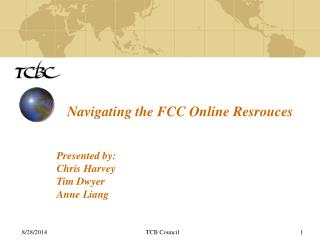 Navigating the FCC Online Resrouces