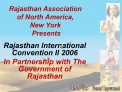 Rajasthan Association  of North America,  New York  Presents