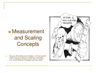 Measurement and Scaling Concepts