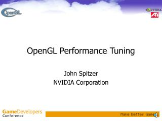 OpenGL Performance Tuning