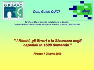 Dott. Guido QUICI