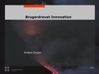 Brugerdrevet Innovation