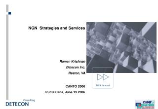 NGN  Strategies and Services