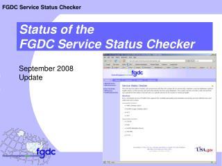 September 2008 Update