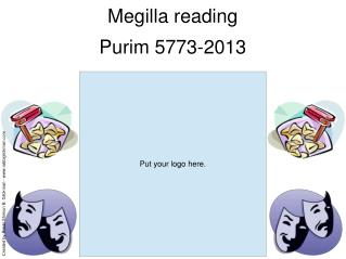 Megilla reading Purim 5773-2013