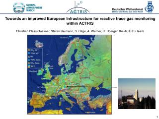 Towards an improved European Infrastructure for reactive trace gas monitoring within ACTRIS