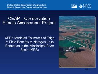 CEAP�Conservation  Effects Assessment Project