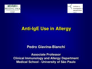 Anti-IgE Use in Allergy