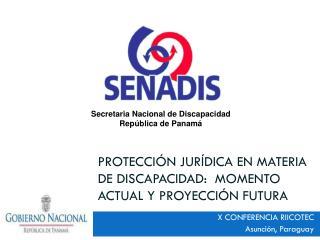 Protección jurídica en materia de discapacidad:  Momento actual y proyección futura