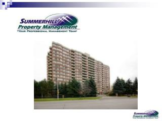 Company Introduction……. Summerhill Property Management in business for over 12 years