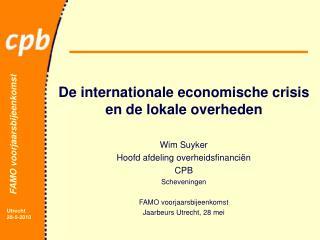 De internationale economische crisis en de lokale overheden